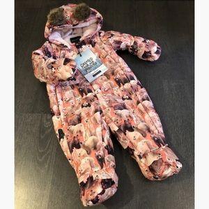Baby one piece snowsuit
